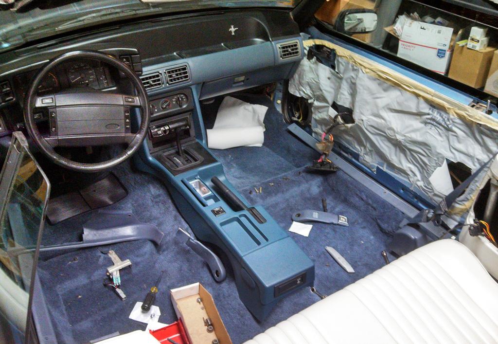 Randy S 1990 Light Crystal Blue Mustang Lx 5 0 Convertible